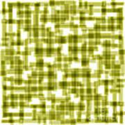 Light Green Abstract Art Print