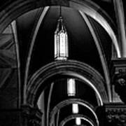 Light In The Basilica Art Print