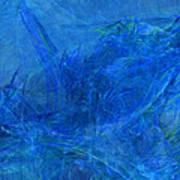 Light It Up Blue Art Print