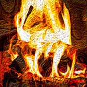 Light My Fire I Art Print