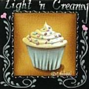 Light 'n Creamy Art Print