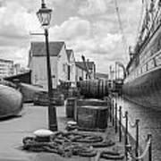 Light Of The Dock Art Print
