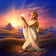 Light Of The Sands Art Print