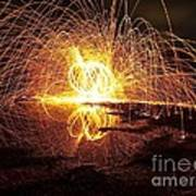 lIGHT PAINTING Art Print