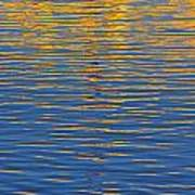 Light Reflections On The Water Art Print