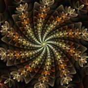 Light Spiral Art Print