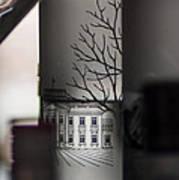 Light Through A Bottle Art Print