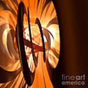 Light Transference Art Print by Peter R Nicholls