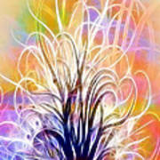 Light Tree Art Print