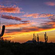 Light Up The Sky Southwest Style  Art Print
