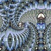 Lighted Cavern Art Print