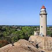 Lighthouse At Mamallapuram Art Print