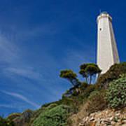 Lighthouse At Saint-jean-cap-ferrat France French Riviera Art Print