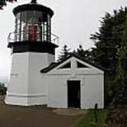 Lighthouse Cape Meares Art Print