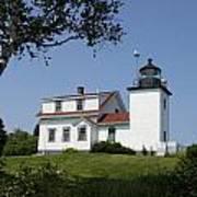 Lighthouse Fort Point Art Print