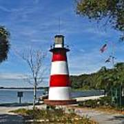 Lighthouse In Mount Dora Art Print