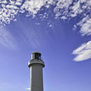 Lighthouse In The Sky Art Print