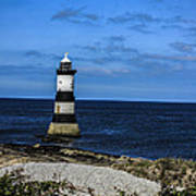 Lighthouse Isle Of Anglessy Wales Art Print