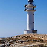 Lighthouse On Cap De Barbaria On Formentera Art Print