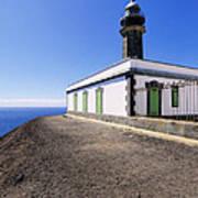 Lighthouse On Hierro Art Print