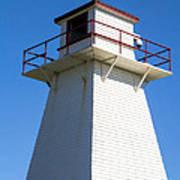 Lighthouse Pei Art Print