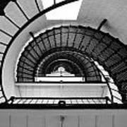 Lighthouse Spiral Art Print