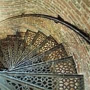 Lighthouse Spiral Staircase Art Print