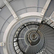 Lighthouse Stairs 2 Art Print
