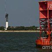 Lighthouse To Buoy Art Print