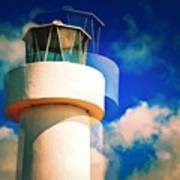 Lighthouse To The Clouds Art Print