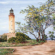 Lighthouse Art Print by Victor Collector