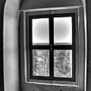 Lighthouse Window At Point Iroquois Art Print