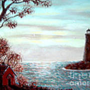 Lighthousekeepers Home Art Print