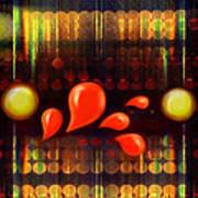 Lights_bleed Art Print
