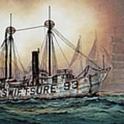 Lightship Swiftsure Art Print