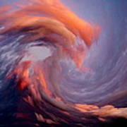 Like A Wave In The Sky Art Print