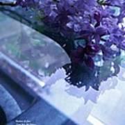 Lilac Glass Art Print
