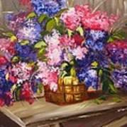 Rustic Lilac Art Print
