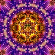 Sacred G Mandala 2 Art Print