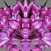 Lilac Twins Art Print