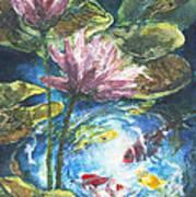 Lilies #2 Art Print