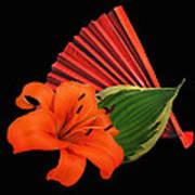 Lilies 2 Art Print