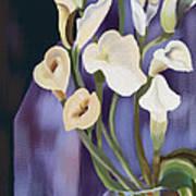 Lilies Art Print by Sydne Archambault