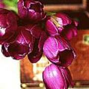 Lilies To Go Art Print