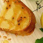 Lilikoi Lime Pound Cake Art Print