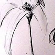 Lilium Observation Art Print