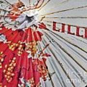 Lillet Parasol Art Print