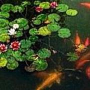 Lily 0147 - Watercolor 1 Sl Art Print