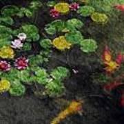 Lily 0147 - Watercolor 2 Sl Art Print