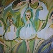 Lily Allegro Ballet Art Print